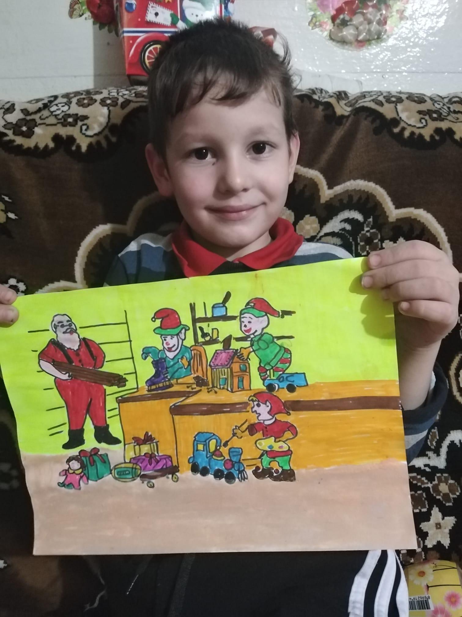concurs desene copii mos craciun
